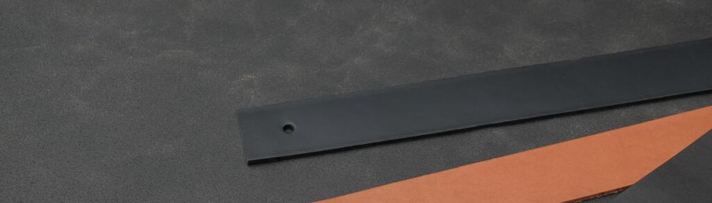 Plankdrager zwart tuigleer