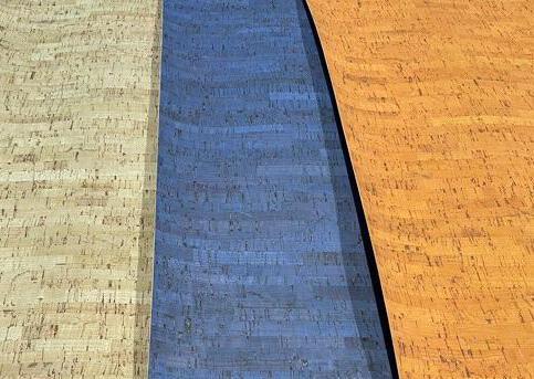 Kurkleer blauw