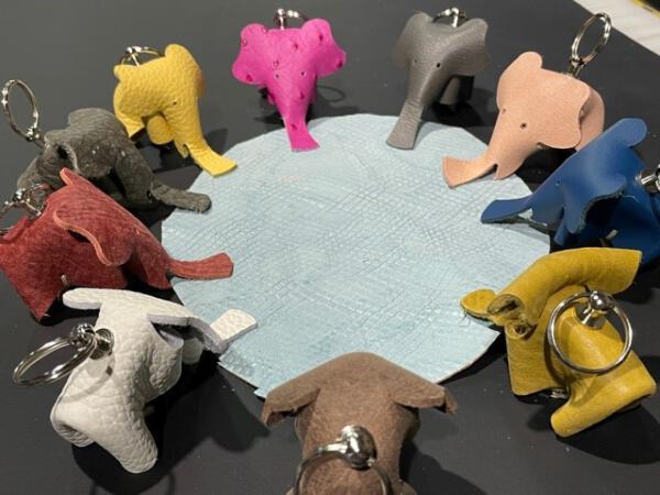 Sleutelhanger olifant 1