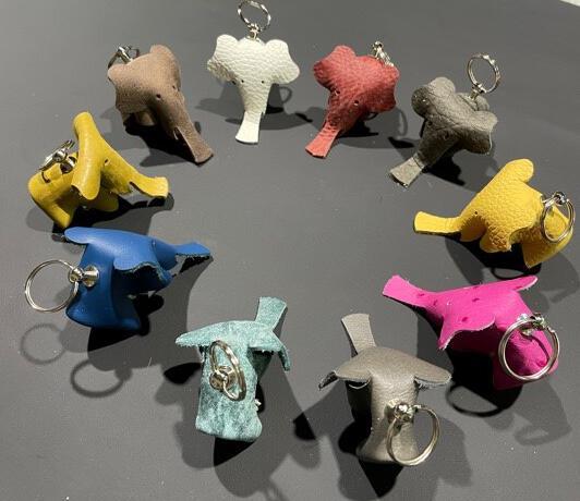 Sleutelhanger olifant 6