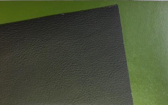 Cactusleer groen en zwart 1 mm - achterkant wit 65-35 f3