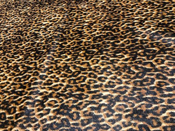 Koeienhuid leopard print close up
